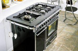 Piano de cuisson chatelaine CHATELAINE PRO 1000 Godin Bordeaux