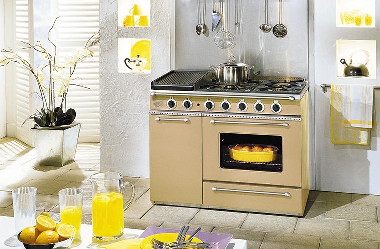 Piano de cuisson souveraine SOUVERAINE 1100 Godin Bordeaux