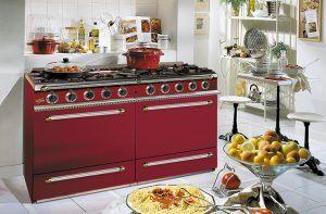 Piano de cuisson souveraine SOUVERAINE 1400 Godin Bordeaux